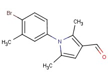 1-(4-bromo-3-methylphenyl)-2,5-dimethyl-1H-pyrrole-3-carbaldehyde
