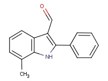 7-methyl-2-phenyl-1H-indole-3-carbaldehyde