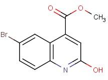 Methyl 6 Bromo 2 Hydroxyquinoline 4 Carboxylate
