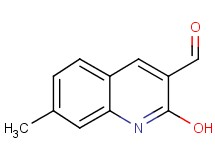 2-hydroxy-7-methylquinoline-3-carbaldehyde