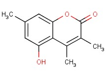 5-hydroxy-3,4,7-trimethyl-2H-chromen-2-one