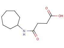 4-(cycloheptylamino)-4-oxobutanoic acid