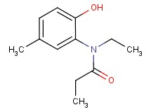 N-ethyl-N-(2-hydroxy-5-methylphenyl)propanamide