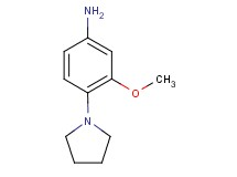3-methoxy-4-(1-pyrrolidinyl)aniline