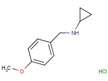 N-(4-methoxybenzyl)cyclopropanamine hydrochloride