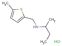 N-[(5-methyl-2-thienyl)methyl]-2-butanamine hydrochloride