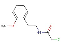 2-chloro-N-[2-(2-methoxyphenyl)ethyl]acetamide