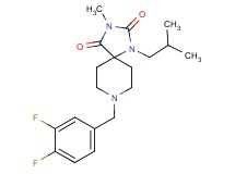 8-(3,4-difluorobenzyl)-1-isobutyl-3-methyl-1,3,8-triazaspiro[4.5]decane-2,4-dione