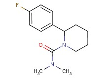2-(4-fluorophenyl)-N,N-dimethyl-1-piperidinecarboxamide