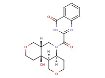 2-{[rac-(4aS,6aS,10aS,10bS)-10a-hydroxyoctahydro-1H,3H-dipyrano[4,3-b:4',3'-d]pyridin-5(6H)-yl]carbonyl}quinazolin-4(3H)-one