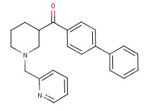 4-biphenylyl[1-(2-pyridinylmethyl)-3-piperidinyl]methanone