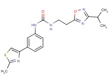 N-[2-(3-isopropyl-1,2,4-oxadiazol-5-yl)ethyl]-N'-[3-(2-methyl-1,3-thiazol-4-yl)phenyl]urea