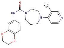 N-(2,3-dihydro-1,4-benzodioxin-6-yl)-4-(3-methylpyridin-4-yl)-1,4-diazepane-1-carboxamide