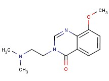 3-[2-(dimethylamino)ethyl]-8-methoxyquinazolin-4(3H)-one