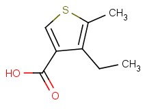 4-ethyl-5-methylthiophene-3-carboxylic acid
