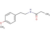 N-[2-(4-methoxyphenyl)ethyl]propanamide