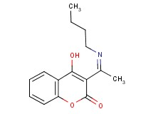 3-(N-butylethanimidoyl)-4-hydroxy-2H-chromen-2-one