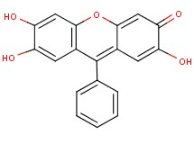 2,6,7-trihydroxy-9-phenyl-3H-xanthen-3-one