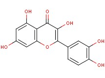 2-(3,4-dihydroxyphenyl)-3,5,7-trihydroxy-4H-chromen-4-one dihydrate