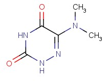 6-(dimethylamino)-1,2,4-triazine-3,5(2H,4H)-dione