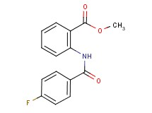 methyl 2-[(4-fluorobenzoyl)amino]benzoate