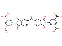 5,5'-[carbonylbis(1,3-dioxo-1,3-dihydro-2H-isoindole-5,2-diyl)]diisophthalic acid