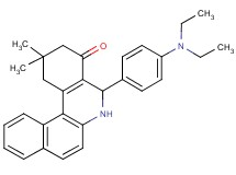 5-[4-(diethylamino)phenyl]-2,2-dimethyl-2,3,5,6-tetrahydrobenzo[a]phenanthridin-4(1H)-one