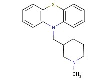 10-[(1-methyl-3-piperidinyl)methyl]-10H-phenothiazine acetate
