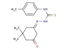 5,5-dimethyl-1,3-cyclohexanedione 1-[N-(4-methylphenyl)thiosemicarbazone]