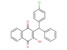 2-[(4-chlorophenyl)(phenyl)methyl]-3-hydroxynaphthoquinone