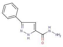 3-phenyl-1H-pyrazole-5-carbohydrazide