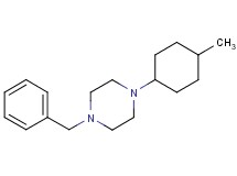 1-benzyl-4-(4-methylcyclohexyl)piperazine