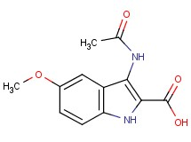 3-(acetylamino)-5-methoxy-1H-indole-2-carboxylic acid