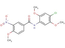 N-(4-chloro-2,5-dimethoxyphenyl)-4-methoxy-3-nitrobenzamide