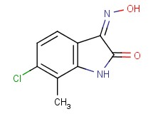 6-chloro-7-methyl-1H-indole-2,3-dione 3-oxime