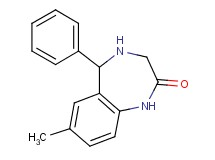 7-methyl-5-phenyl-1,3,4,5-tetrahydro-2H-1,4-benzodiazepin-2-one