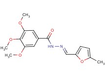 3,4,5-trimethoxy-N'-[(5-methyl-2-furyl)methylene]benzohydrazide