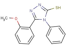 5-(2-methoxyphenyl)-4-phenyl-4H-1,2,4-triazole-3-thiol