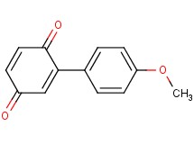 2-(4-methoxyphenyl)benzo-1,4-quinone