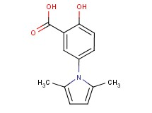 5-(2,5-dimethyl-1H-pyrrol-1-yl)-2-hydroxybenzoic acid