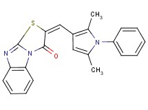2-[(2,5-dimethyl-1-phenyl-1H-pyrrol-3-yl)methylene][1,3]thiazolo[3,2-a]benzimidazol-3(2H)-one
