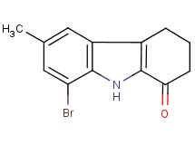 8-bromo-6-methyl-2,3,4,9-tetrahydro-1H-carbazol-1-one