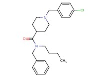 N-benzyl-N-butyl-1-(4-chlorobenzyl)-4-piperidinecarboxamide oxalate