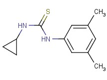 N-cyclopropyl-N'-(3,5-dimethylphenyl)thiourea