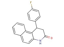 1-(4-fluorophenyl)-1,4-dihydrobenzo[f]quinolin-3(2H)-one
