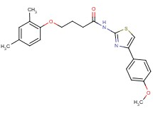 4-(2,4-dimethylphenoxy)-N-[4-(4-methoxyphenyl)-1,3-thiazol-2-yl]butanamide
