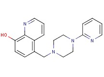 5-{[4-(2-pyridinyl)-1-piperazinyl]methyl}-8-quinolinol