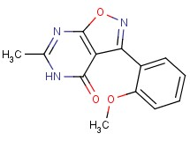 3-(2-methoxyphenyl)-6-methylisoxazolo[5,4-d]pyrimidin-4(5H)-one