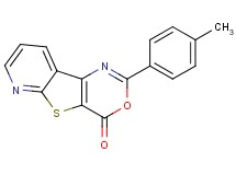 2-(4-methylphenyl)-4H-pyrido[3',2':4,5]thieno[3,2-d][1,3]oxazin-4-one