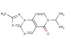 7-isopropyl-2-methylpyrido[3,4-e][1,2,4]triazolo[1,5-a]pyrimidin-6(7H)-one
